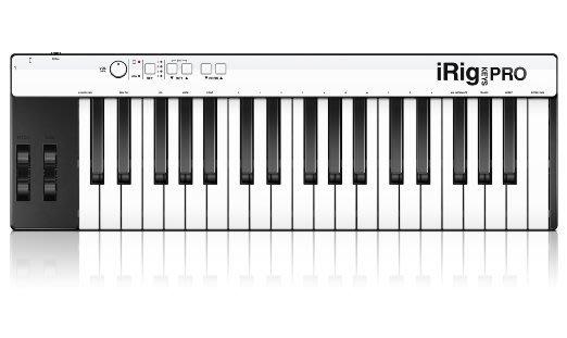 《民風樂府》IK Mutimedia iRig Keys Pro 37鍵 標準鍵 MIDI鍵盤