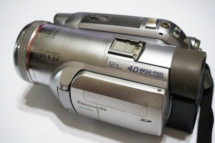 ☆手機寶藏點☆ 國際牌 NV-GS500 數位攝放影機 攝影機 零件機 報帳 繳回 無法重製 Che A5