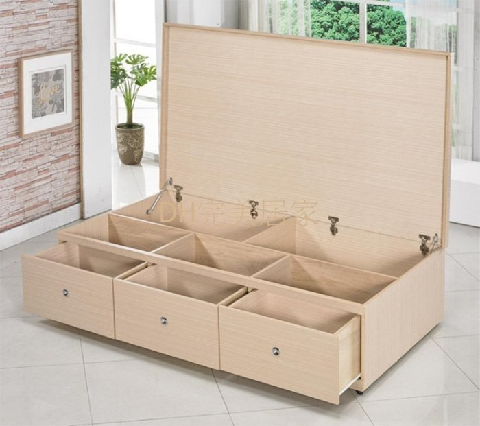 T3名稱《經典》3.5呎上掀三抽屜(圖一) 六分木心板.台灣製可訂做.備有5尺6尺6X7尺可選