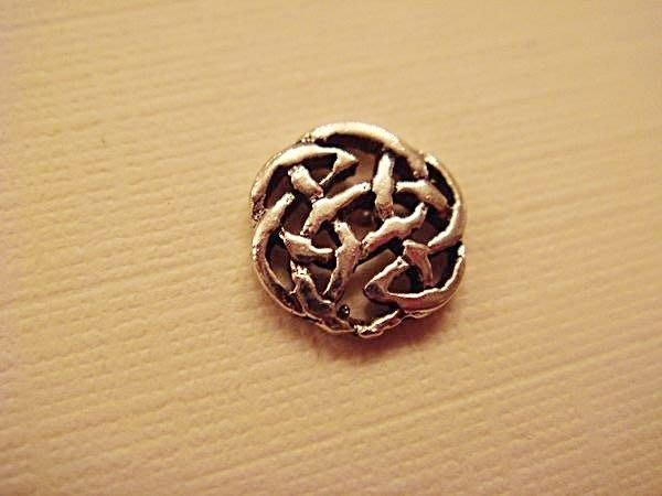 大降價!全新美國 925純銀 Sterling Silver 編織圓形穿式耳環,低價起標無底價!本商品免運費!
