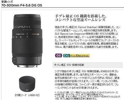【eWhat億華】SIGMA 70-300mm F4-5.6 DG OS 防手震 公司 NIKON 用 出清特價 【4】