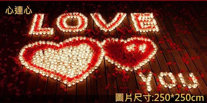 排字 求婚 表白 情人節 蠟燭套餐 LOVE 精裝版 天使心 心連心 二款式 求婚 情人節 92號【P11003101】