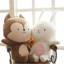 太陽的後裔 韓劇 抱枕 狼君娃娃 兔子 宋仲基 宋慧喬