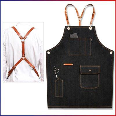 圍裙 圍腰 工作服 家用 套袖圍裙 圍...