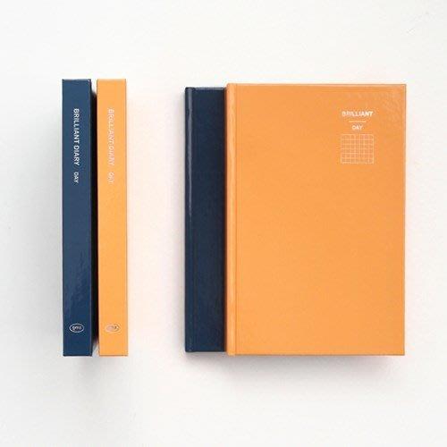 ❅PAVEE❅ 韓國GMZ~ Brilliant Diary DAY 精裝萬年方格手帳 日記事 日誌