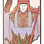 【預馨緣塔羅鋪】現貨正版水瓶座/寶瓶座塔羅牌Aquarian tarot(全新78張)(鐵盒版)