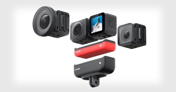 *大元˙新北*【新品預購】Insta360 One R 雙鏡頭 套裝組 (含4k及全景鏡頭) 公司貨