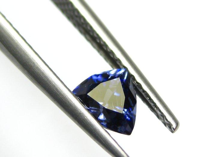 【Texture & Nobleness 低調與奢華】天然無處理 高品質AAA 超級稀有 藍錐礦 -0.56克拉