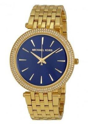 MK3406腕錶 藍色