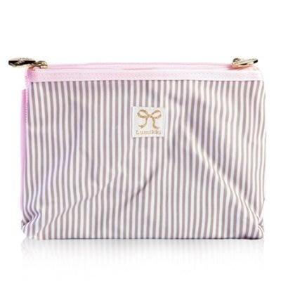 化妝袋 隨身收納包-可愛蝴蝶結好收納兩折女防水袋73d16[獨家進口][米蘭精品]