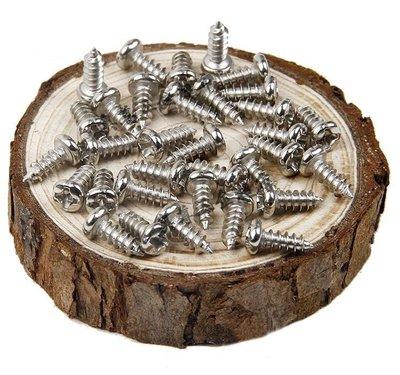 @2元 微型螺絲 PA 十字圓頭自攻牙M1.0 M1.2 M1.5 M1.7  (鎖木頭、鎖塑膠)