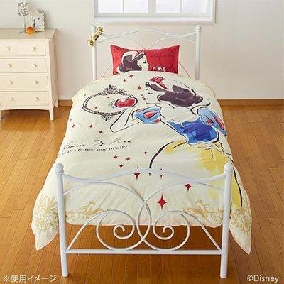 日本代購 迪士尼 disney 愛麗絲 貝兒 長髮公主 小美人魚 白雪公主 仙度瑞拉 單人床包 三件組 床單 枕頭套