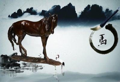 INPHIC-宗教 精品開光純銅馬到成功歐式銅馬工藝品家居裝飾品馬年擺設