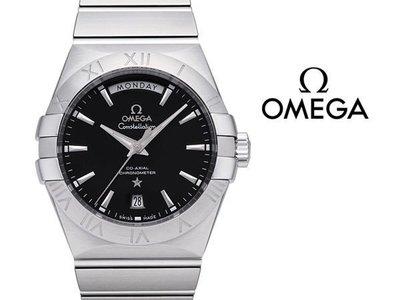 OMEGA 歐米茄 手錶 CONSTELLATION 星座 機械錶 38mm 防水100米 藍寶石 天文台 123.10.38.22.01.001