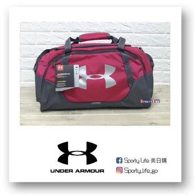 【SL美日購】UA UNDENIABLE SMALL DUFFEL 3.0 UA行李袋 粉色 旅行袋 214654