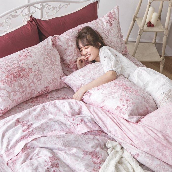 床包兩用被組 / 雙人【靜影愛戀】含兩件枕套  60支精梳棉  戀家小舖AAS215