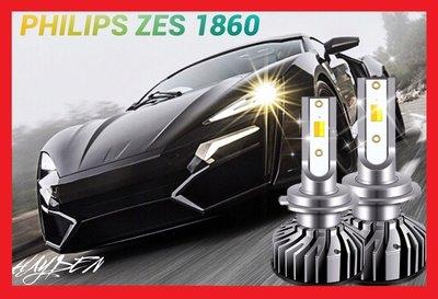 【單色】二代飛利浦LED汽車大燈機車大燈H1 H4 H7 H8 HS1 H11 9006 9005 LED大燈 霧燈