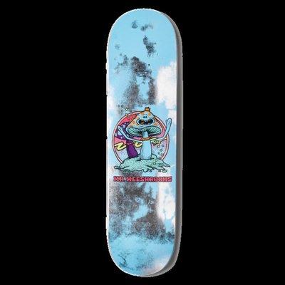 美國進口primitive x Rick and Morty 香菇 瑞克與莫帝滑板板面 聯名稀有限量輪初學者培林輪架