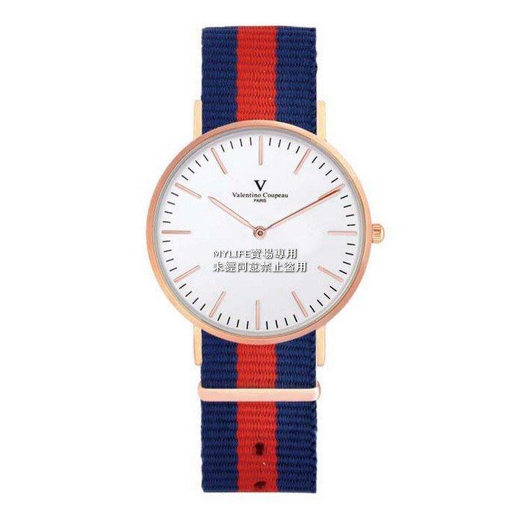 EB86E 61349-3 漾情青春手錶手表日本原裝機芯范倫鐵諾古柏 Valentino Coupeau