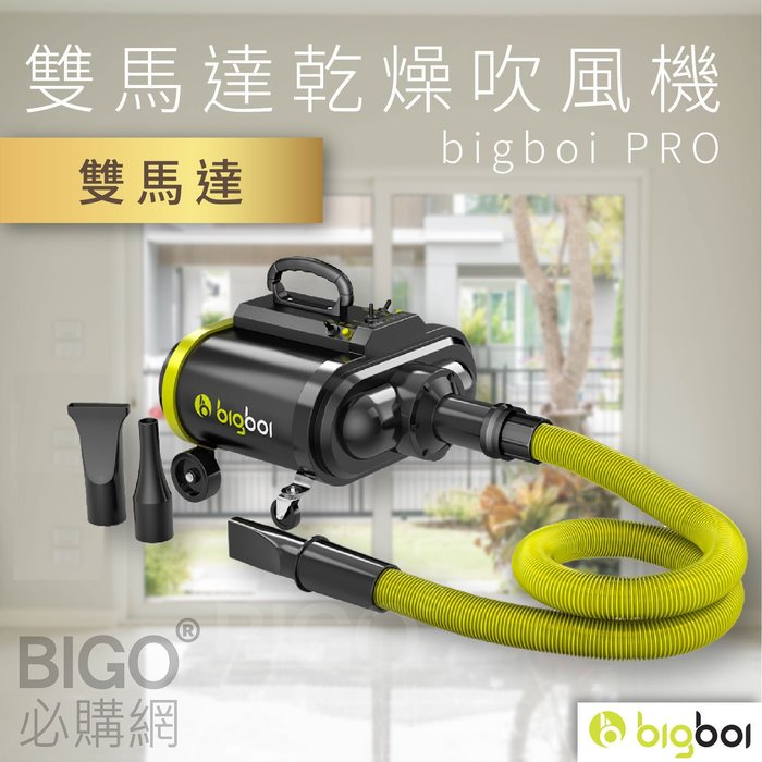 人氣熱賣NO.1【bigboi】PRO 雙馬達乾燥吹風機 吹水機 乾燥 烘乾 清潔 洗車 機車 汽車 不傷材質