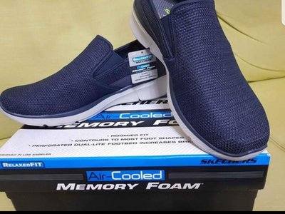 skechers relaxed fit air cooled memory foam mens shoes