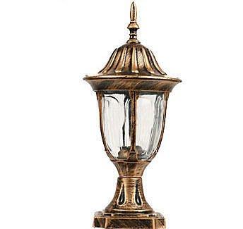 {美學}歐式庭院燈花園LE節能戶外牆頭燈柱頭燈圍牆柱頭燈柱燈MX-2004