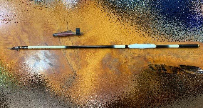 台中二手家具拍賣 大里宏品二手傢俱館 FR101516*NISSIN INGRAM 1-500白色磯釣竿*海釣竿二手釣具