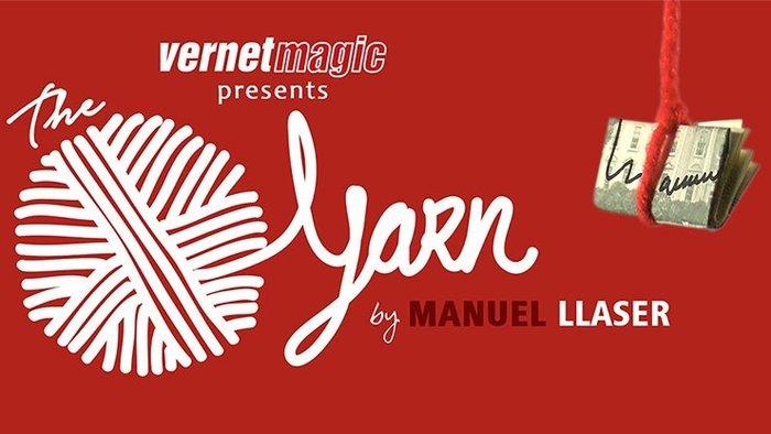 【天天魔法】【S828】正宗原廠~紗住鈔票(毛線奇蹟)(The Yarn by Manuel LLaser)