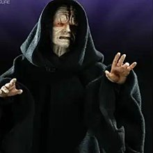 exclusive sideshow emperor palpatine 1/6 for hot toys star wars