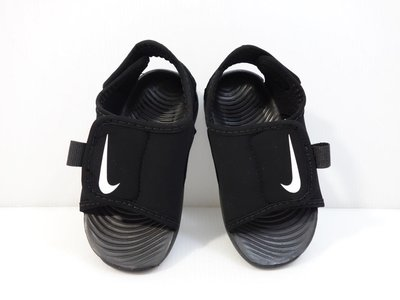 =小綿羊= NIKE SUNRAY ADJUST 5 V2 TD 黑白 DB9566 001 小童 涼鞋 運動鞋 拖鞋
