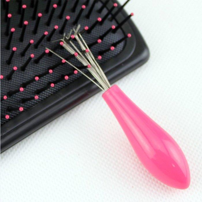 梳子清潔器 梳子清理器 梳子伴侶 塑料清梳器 梳子清潔 梳子 清潔