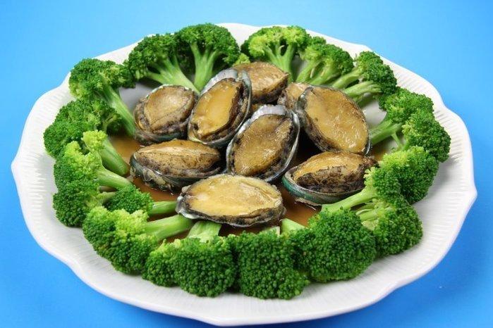 【年菜系列 】帶殼鮑魚(又稱九孔鮑)(半熟凍)1顆 (規格:22顆/1000g) ~ 教你作紅燒帶殼鮑魚 ~新鮮好滋味
