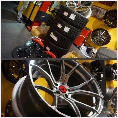 PORSCHE MACAN改裝升級, 21吋鋁圈 輪胎 煞車 避震 懸吊 VORSTEINER KW V3 BREMBO