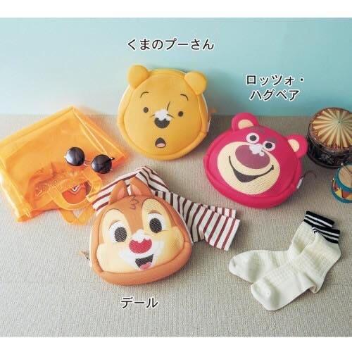 *珍珠日本代購* 超可愛日本製迪士尼系列小型洗衣袋