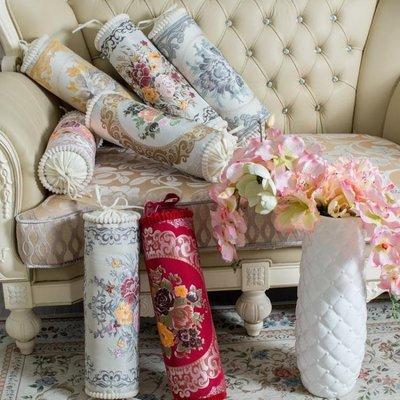 歐式多功能糖果枕沙發抱枕 加大時尚民族風圓柱形靠墊 可拆洗WY