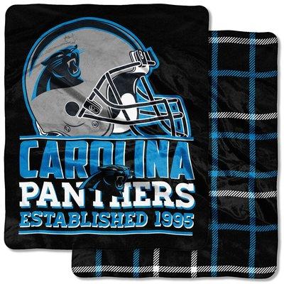 [現貨]美式足球雙面毛毯NFL卡羅萊納黑豹Carolina Panther Double-Sided空調毯交換生日禮品