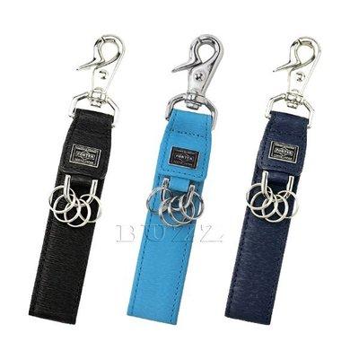 巴斯 日標PORTER屋-三色預購 PORTER CURRENT 牛革皮夾-鑰匙圈 052-02217
