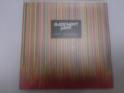 地下室混音小子 Basement Jaxx ~~(生涯全單曲精選輯) 宣傳裸片,CD無刮傷