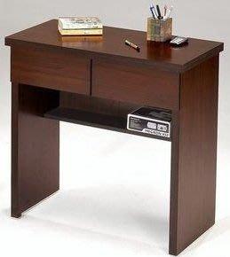 桃園國際二手貨中心 --- 2.7尺日系書桌 共兩色可選(白橡色+胡桃色)