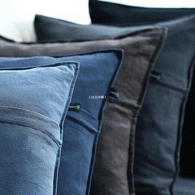 [芳菲小鋪] 巷子戲法 | COON亞麻靠枕沙發靠墊客廳抱枕套不含芯棉麻護腰枕