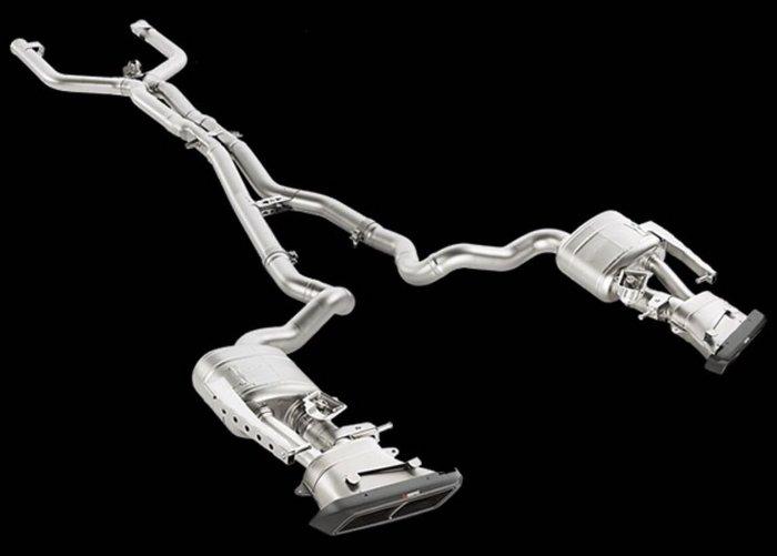 國豐動力 AKRAPOVIC AMG C63 C63S 排氣管 限量一套 特價出清 全車系歡迎洽詢