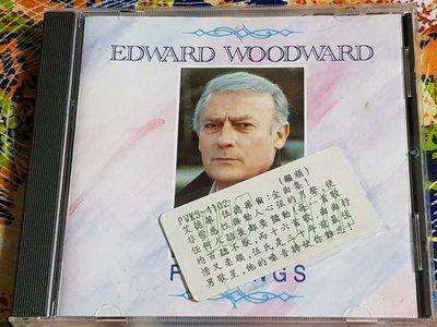 R西洋男(二手CD)艾德華伍德華爾~EDWARD WOODWARD~FEELINGS~金碟版~