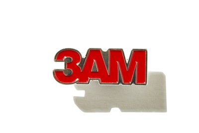 "[ LAB Taipei ] CHILL OUT ""3AM ENAMEL PIN"""