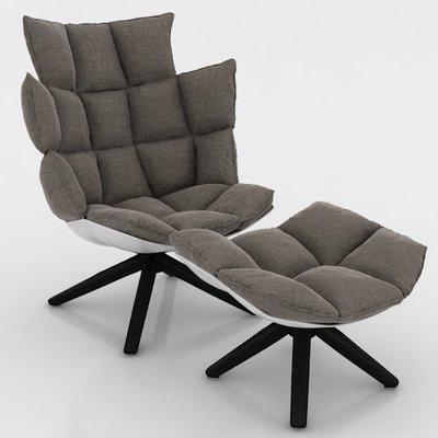 [米蘭諾家具]訂製款 復刻 B&B HUSK單人 椅 質感一流 台灣嚴選工廠製造/設計款