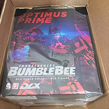 3A threezero DLX scale transformers optimus prime bumblebee