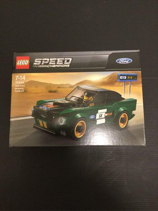COME 玩具 LEGO 75884 福特 野馬