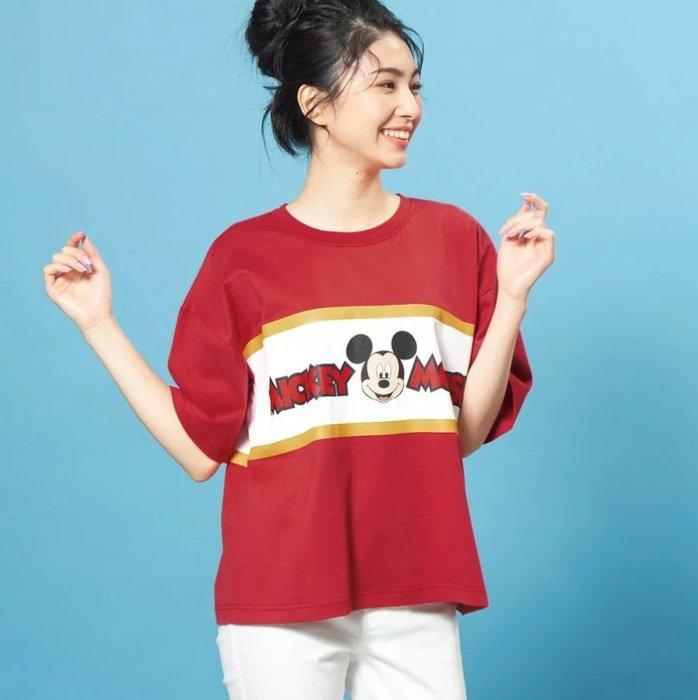 《FOS》 2019新款 日本 Disney 迪士尼 T恤 短T 棉T 時尚 雜誌款 可愛 米奇 米妮 唐老鴨 奇奇