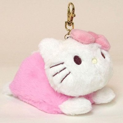 {阿猴達可達}日本空運 三麗鷗 Hello kitty 立體娃娃 伸縮卡片夾 捷運卡片套 證件夾 伸縮款 全新價390元