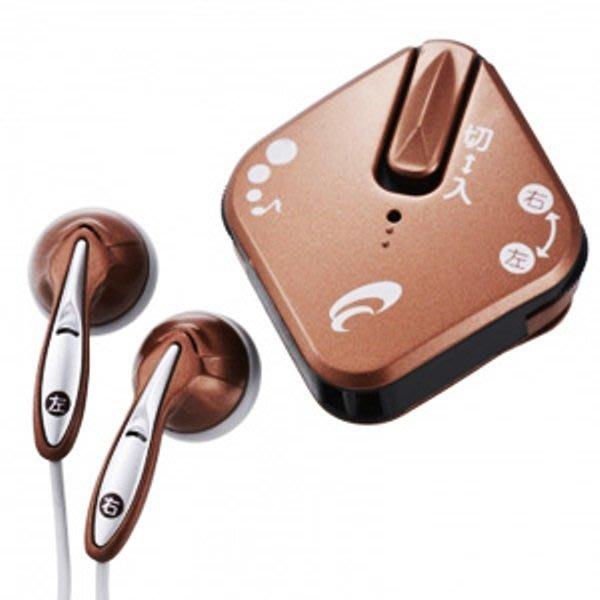 特價現貨!! 日本原裝 YAZAWA SLV11BR集音器 擴音耳機 (非醫療助聽器,本款可獨立調整左右耳音量)