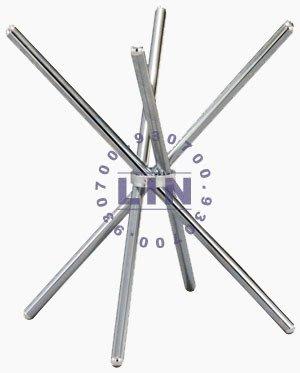 【品特優家具倉儲】A436-08桌腳交叉腳電鍍腳